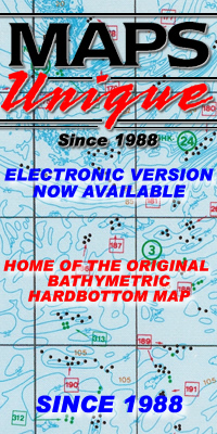 HOME OF THE ORIGINAL BATHYMETRIC/HARDBOTTOM MAP